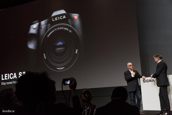 Jön az S3, az új középformátumú Leica