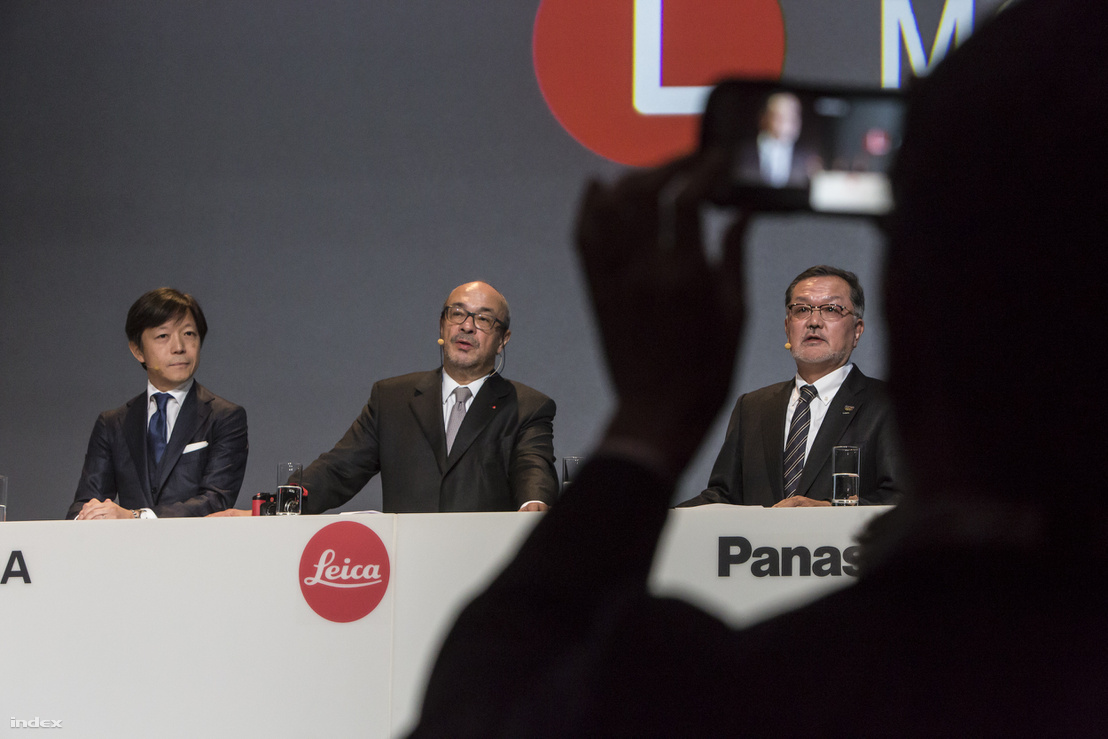 A Sigma, a Leica és a Panasonic fejesei