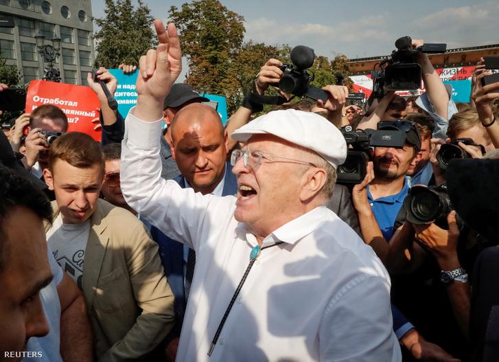 Vlagyimir Zsirinovszkij az LDPR vezetője
