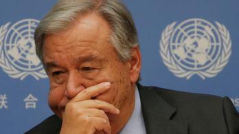 Vészharangot kongat az ENSZ-főtitkár