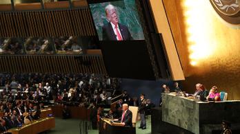 Trump elutasította a globális kormányzást