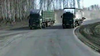 Szuper videón egy magyar kamionos konvoj útja Szibéria mélyére
