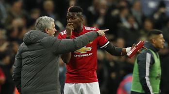 Mourinho: Pogba nem lesz többé kapitány