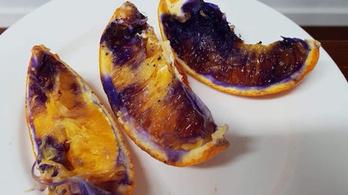 Megoldódott a lilává változó narancs rejtélye