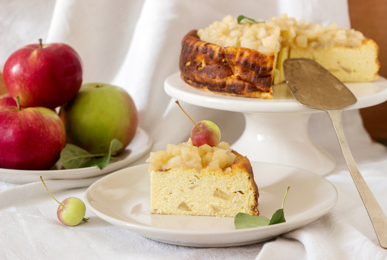 Fantasztikus, sült almás túrótorta a legegyszerűbben: ellenállhatatlanul finom