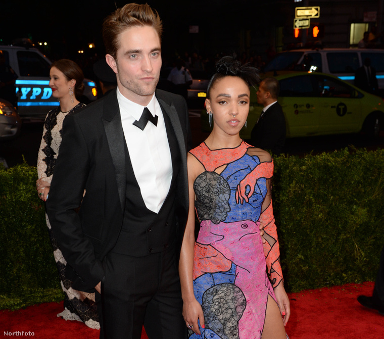 Robert Pattinson és FKA twigs.
