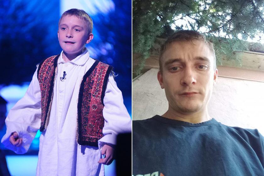 Utasi Árpi a 2007-es Csillag Születikben tűnt fel. Ma már 25 éves, felnőtt férfi.