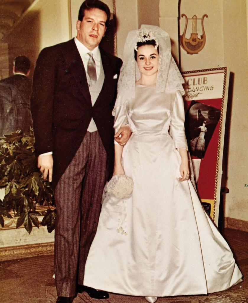 Carlo Pedersoli 31 éves volt, mikor feleségül vette szerelmét, Maria Amatót.