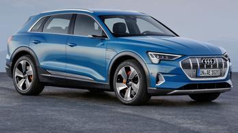 Nem megy el egy töltéssel 400 km-t az elektromos Audi?