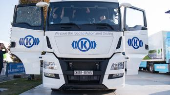 Íme a magyar fejlesztésű, önmagát vezető kamion