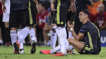 Ronaldót csak egy meccsre tiltották el, játszhat a Manchester United ellen