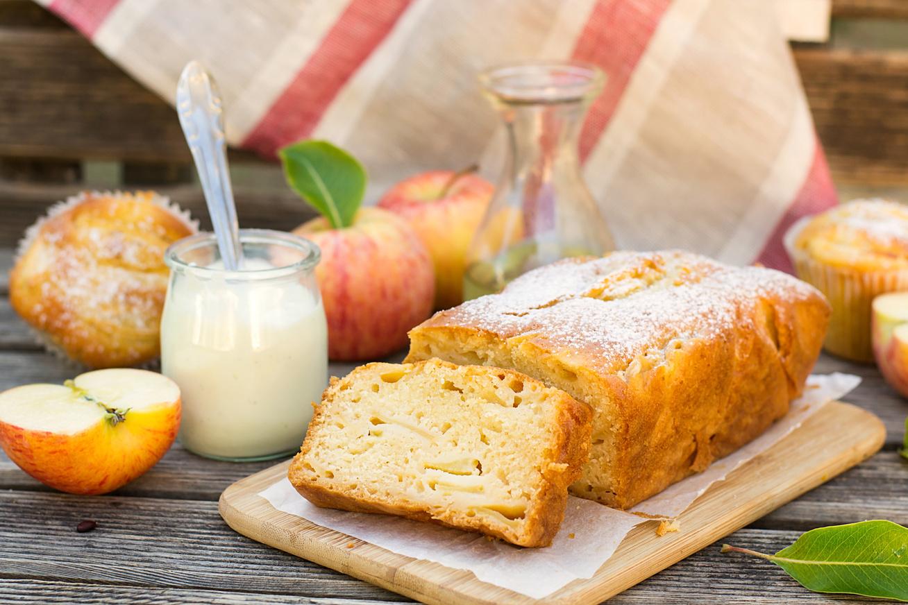 Mennyei, almás gyümölcskenyér: ettől a hozzávalótól még lágyabb a tészta