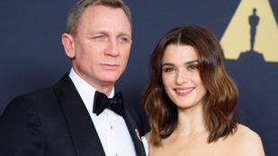 Megszületett Rachel Weisz és Daniel Craig első közös gyereke