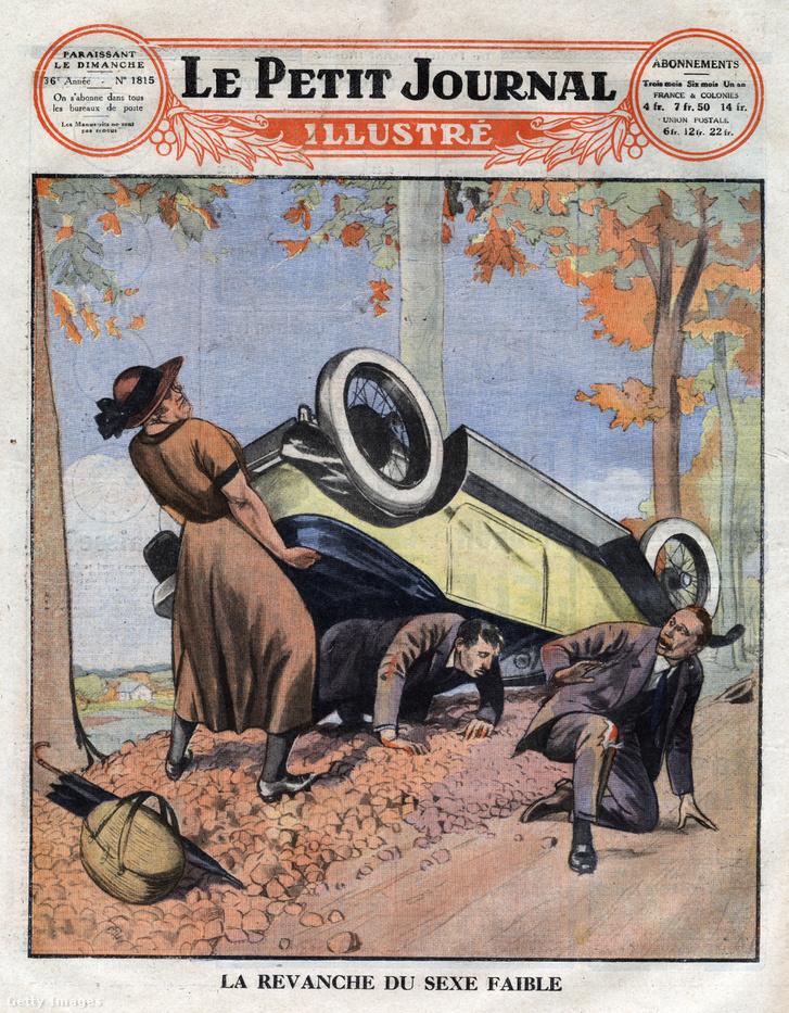 Az 1925. október 4-i Le petit journal című újság címlapja