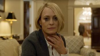 Claire Underwoodtól mindenki retteg az új House of Cards-évadban