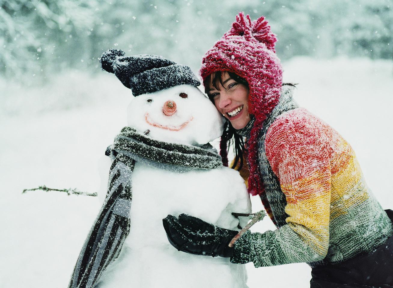 téli boldogság