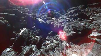 Ugrálva közlekednek, és küldik az új képeket az aszteroidáról a roverek
