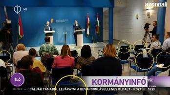 Két kormánykritikus újságot sem engedtek be a Kormányinfóra