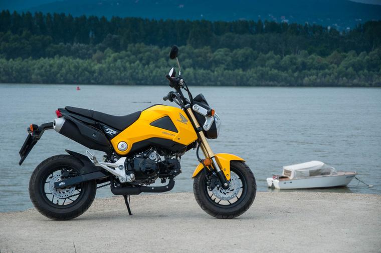 Honda MSX125                         A Honda Monkey leszármazottja az első motorkerékpár-szabású jármű a listán