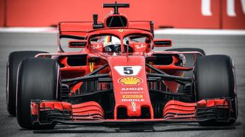 Garázstűz a Haasnál, Vettel az élen Szocsiban