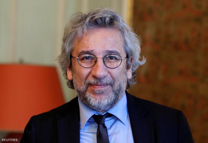 Can Dündar, a Cumhuriyet című török lap egykori főszerkesztője