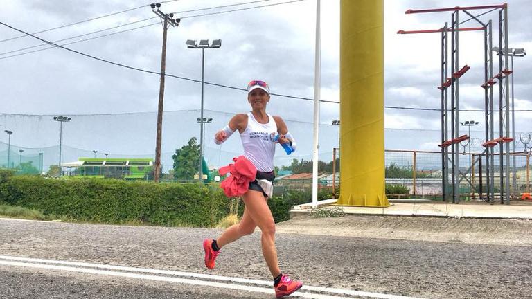 Maráz Zsuzsanna a Spartathlon női bajnoka