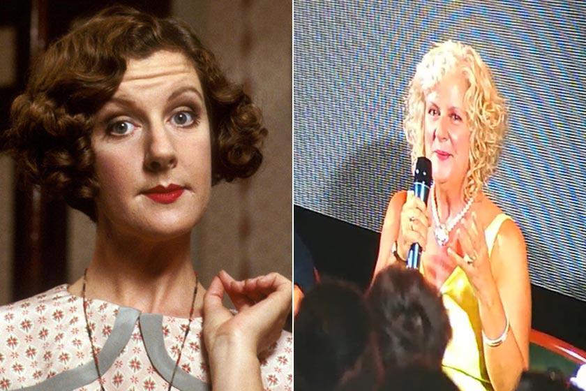 Susie Brann még túl az ötvenen is remekül néz ki, bár már alig hasonlít Miss Poppy-ra. Egyébként a valóságban tünemény nő, egyáltalán nem az az elkényeztetett, gonoszkodó fruska, akit eljátszott.
