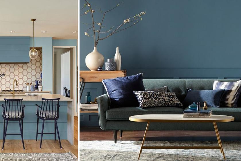 2019 színe nyugtató és barátságos: mutatjuk, hogyan jelenhet meg a lakásodban