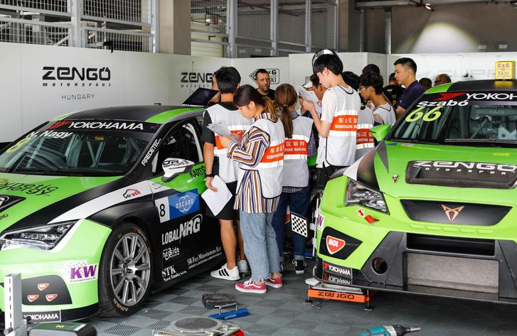 A Zengő-garázs Kínában