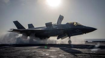 Lezuhant egy elpusztíthatatlannak hitt F–35-ös