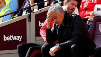 A győzelmet ígérő Mourinho értékelhetetlenül bukott el