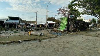 Több száz rab szökött el az indonéz földrengésben