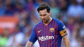 Megint hibázott, így már három mérkőzés óta nyeretlen a Barcelona