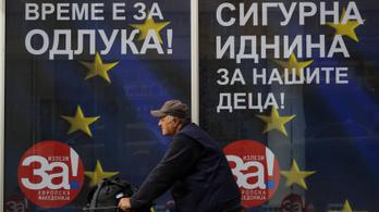Nagyon fontos népszavazás kezdődött Macedóniában
