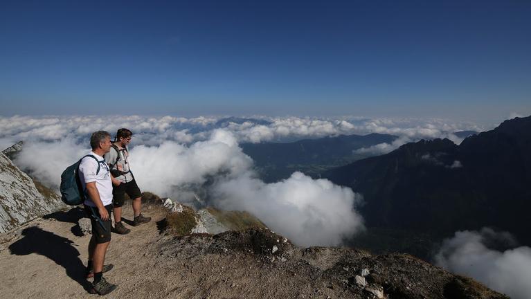 A Júliai-Alpok egyik legszebb csúcsán