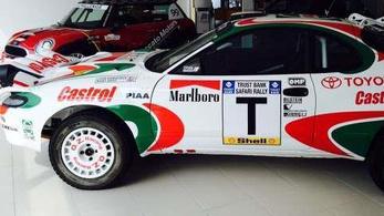 Sainz és Kankkunen korábbi autóját valaki?