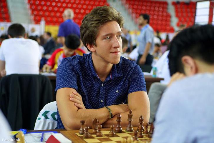 Gledura Benjámin a sakkolimpián Batumiban