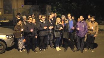 Egy utolsót tüntettek Orbán Viktor háza előtt