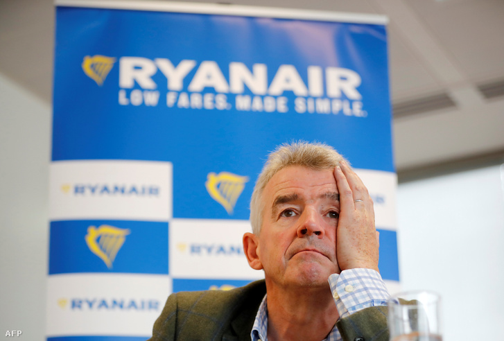 Michael O'Leary, a Ryanair vezérigazgatója