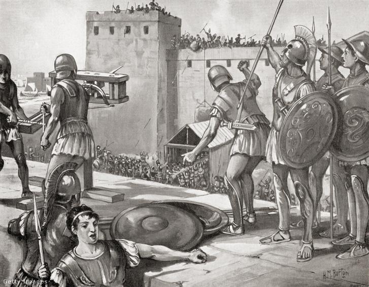 Poteidaia ostroma ie. 432-ben a háború egyik előzménye volt