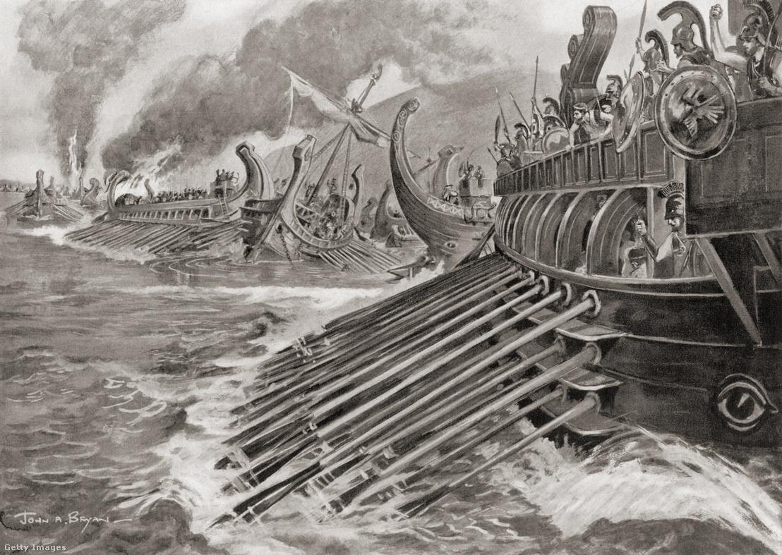 A pelopponészoszi háború egyik végső csatája a Hellespontos szorosnál