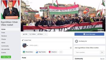 Kamutüntetést szerveznek Orbán mellett