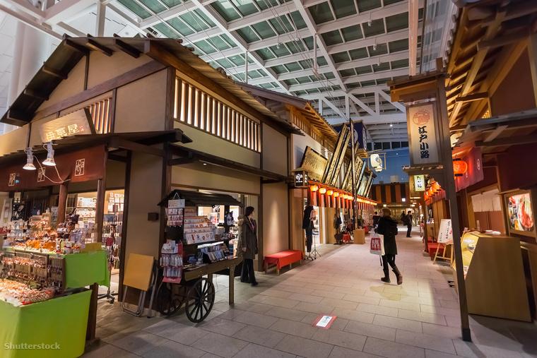 A japán Haneda Nemzetközi Repülőtér minőségi gasztrokínálatáról ismert