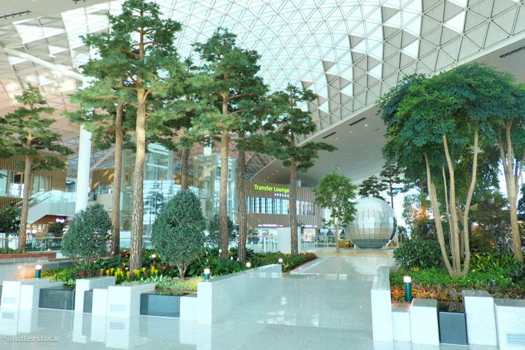 Dél-Koreában az Incshoni nemzetközi repülőtér olyan első osztályú szolgáltatásokat kínál, mint az ingyenes zuhanyzók, masszázsszékek vagy alvó zónák