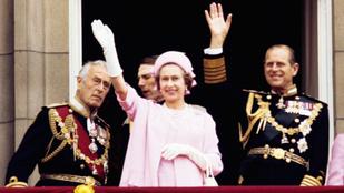 II. Erzsébet legbizarrabb kiegészítője egy integető műkéz
