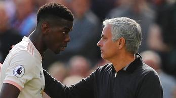Pogba négyszavas válasszal mélyítette konfliktusát Mourinhóval