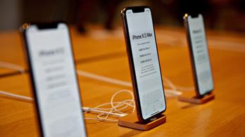 Gond van az iPhone Xs töltésével