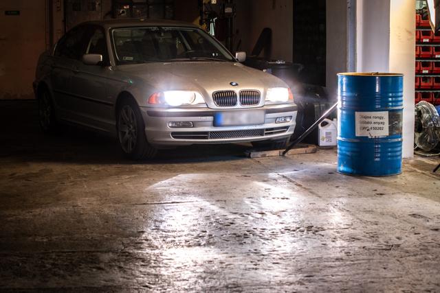 BMW E46 Osram Night Breaker Laser izzókkal