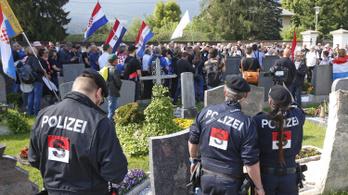 Ausztria igyekszik megfékezni a horvát fasisztákat, ezért usztasa  jelképeket tilt be