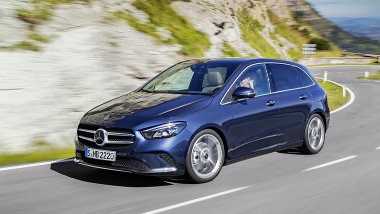 Nagyobb és áramvonalasabb az új Mercedes B osztály